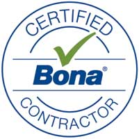 Bona Certified CONTRACTOR Logo rural timber flooring busselton